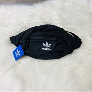 NWT Unisex Adidas Black Waist Pack
